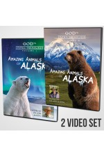 Amazing Animals of Alaska Vols 1 & 2 DVDs