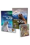 Amazing Animals of Alaska Vols 1 & 2 DVDs and Creation Cards Combo